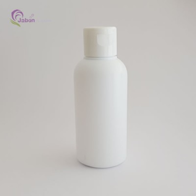 Botella 100 ml. blanca con tapón flip top