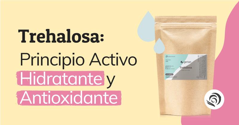 la trehalosa, principio activo hidratante para cosmetica casera
