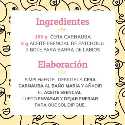 receta casera labial hidratante