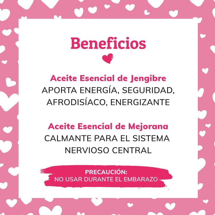 beneficios ingredientes aceite de masaje casero afrodisiaco san valentin