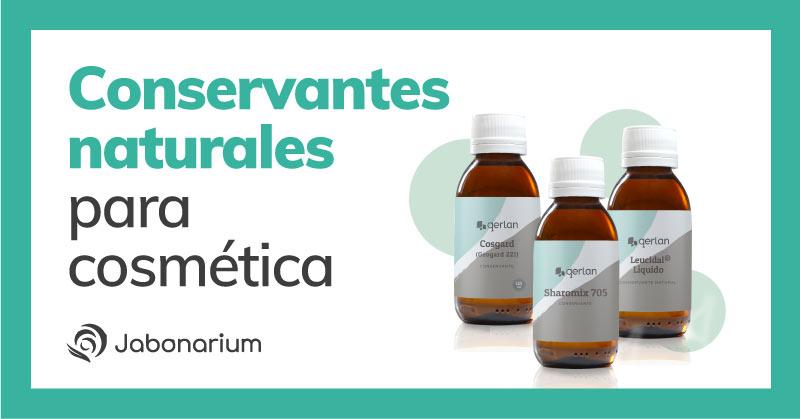 conservantes y antioxidantes naturales para hacer cosmetica